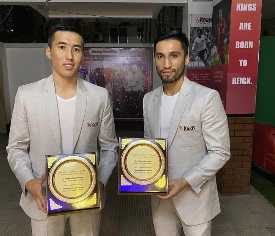 Таджикский футболист выиграл азиатский трофей