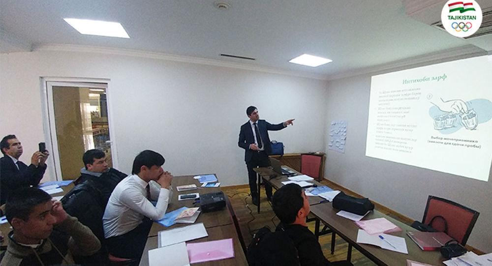 Для тренеров Таджикистана провели семинары по борьбе с допингом