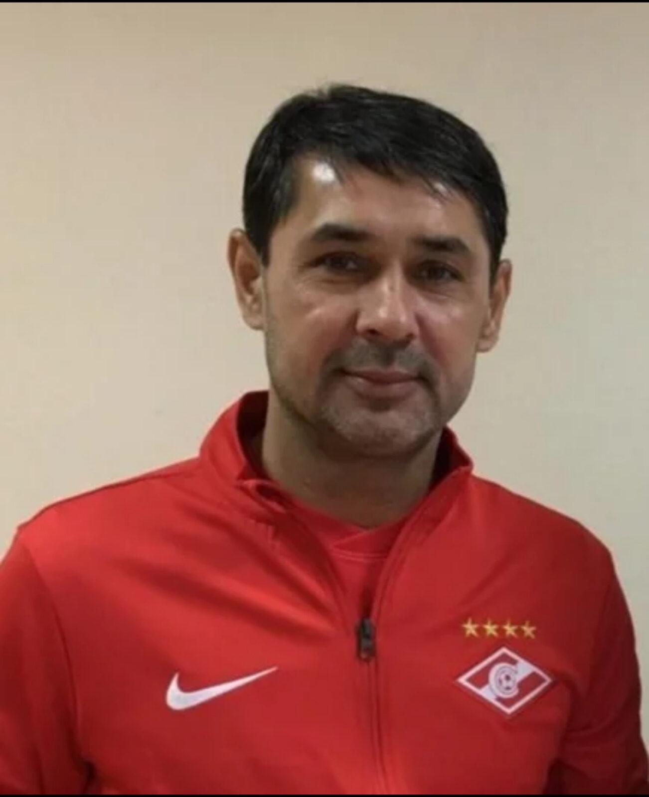 Таджикский тренер Юсупов стал «красно-белым»