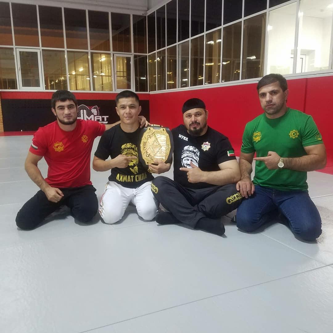 Как таджикским бойцам попасть в UFC?