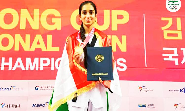Таджикская спортсменка – первая в Корее