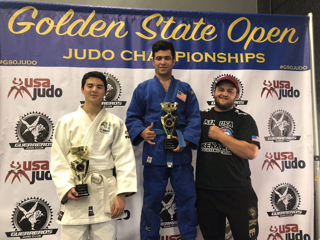 Боец Муин Гафуров стал чемпионом в дзюдо