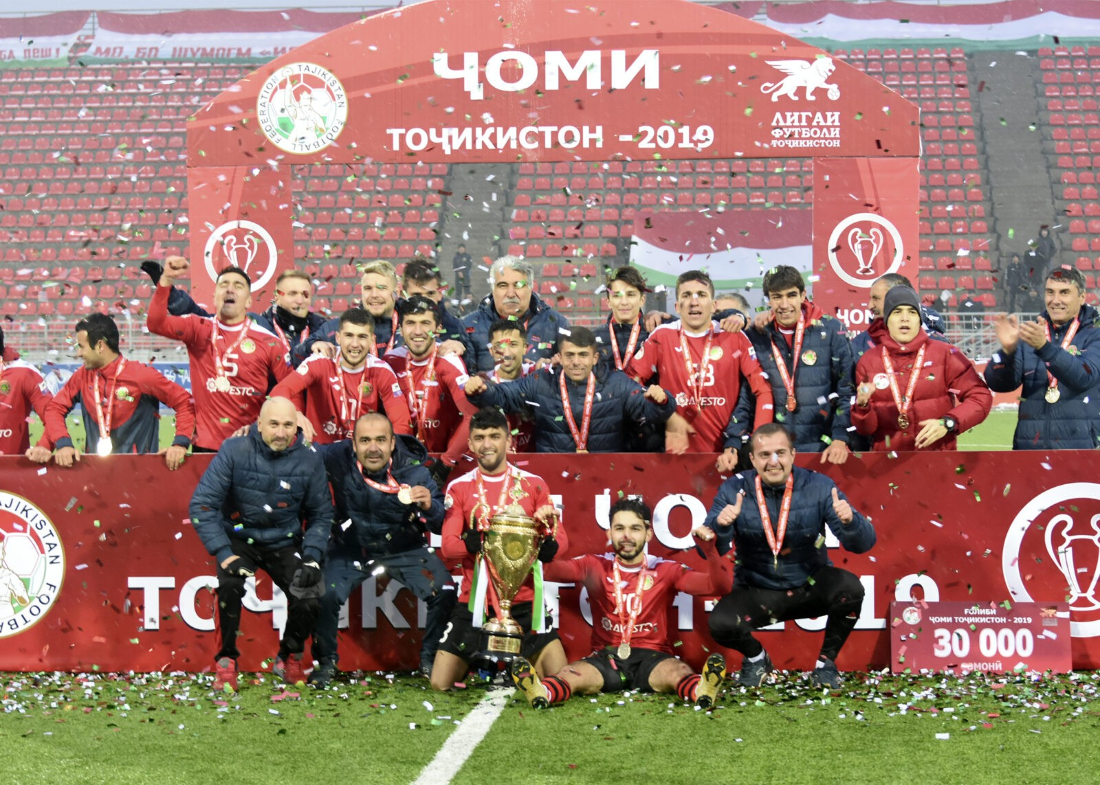 «Истиклол» собрал все трофей сезона-2019