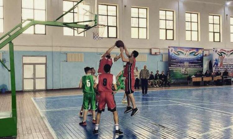 В Таджикистане возрождают баскетбольную лигу