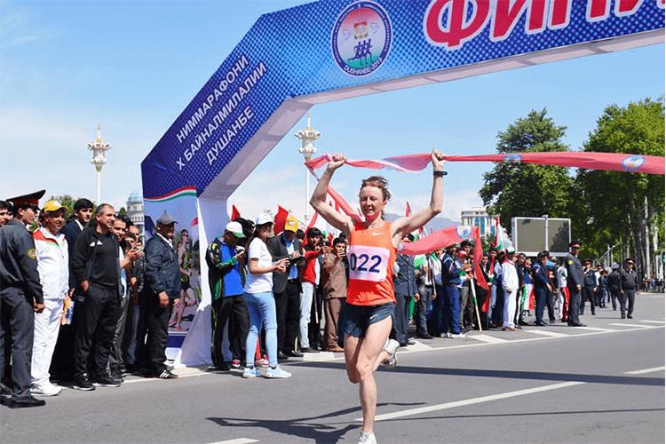 Таджикские легкоатлетки попали в призеры полумарафона