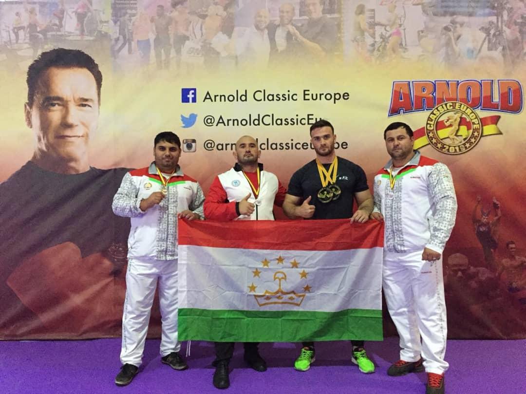Arnold Classic: таджикистанцы показали себя
