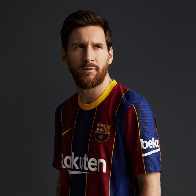 «Барселона» представила новую домашнюю форму на следующий сезон
