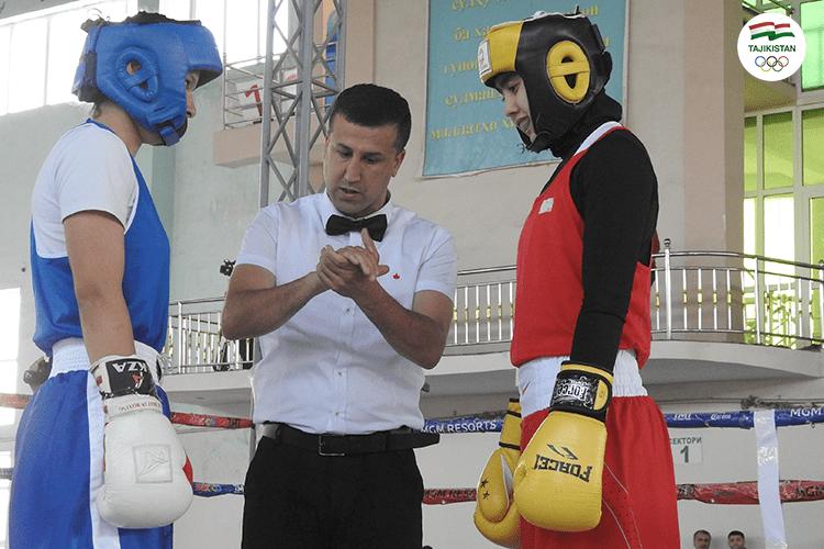 В Душанбе определились лучшие боксеры страны