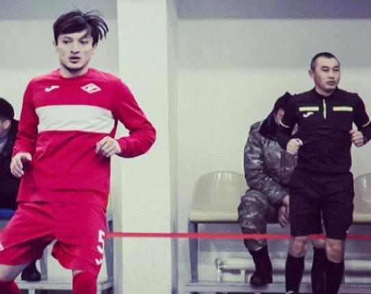 Кыргызстанский «Спартак» расстался с таджикским игроком