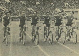 Страничка истории: триумфатор велосипедных гонок