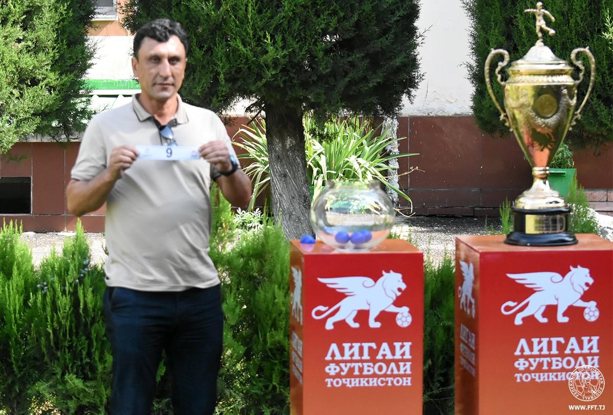 Основная сетка розыгрыша Кубка Таджикистана-2020: кто с кем?