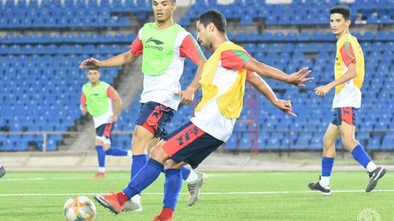 Сборная Таджикистана начала подготовку к отборочным матчам ЧМ-2022