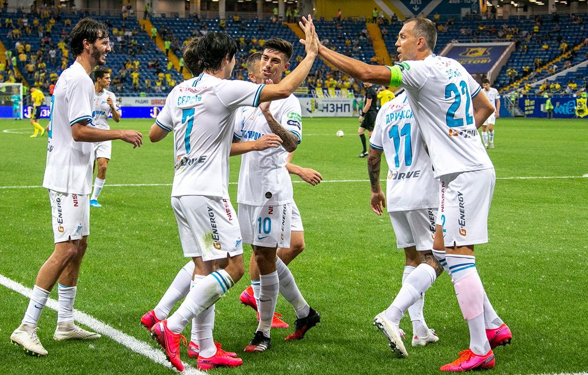 Азмун и Дзюба стали лучшими бомбардирами чемпионата России