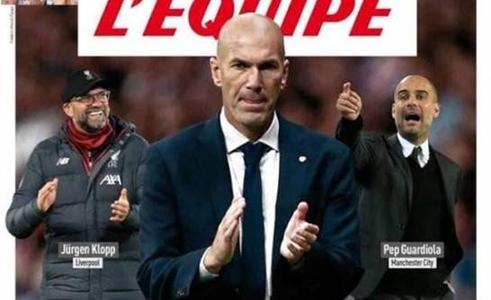 Зидан – лучший клубный тренер мира