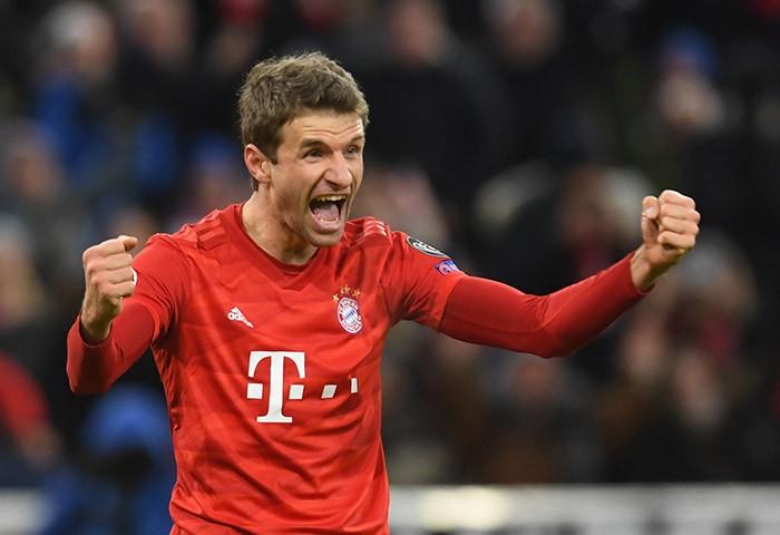Мюллер – в топ-10 лучших бомбардиров в истории Лиги чемпионов