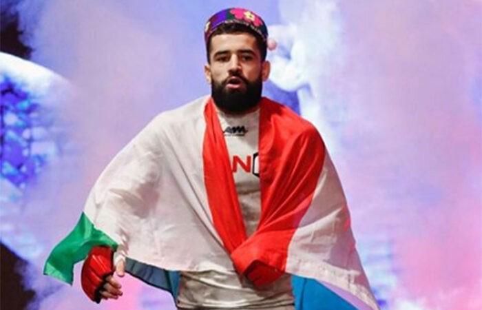 Таджикский боец Мухаммад Наимов спаррингуется с Джастином Гэтжи (видео)