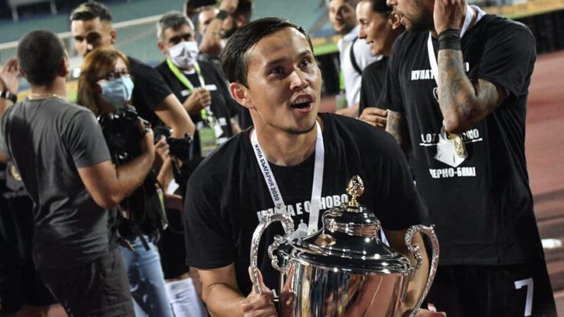 Умарбоев выиграл с «Локомотивом» Суперкубок Болгарии
