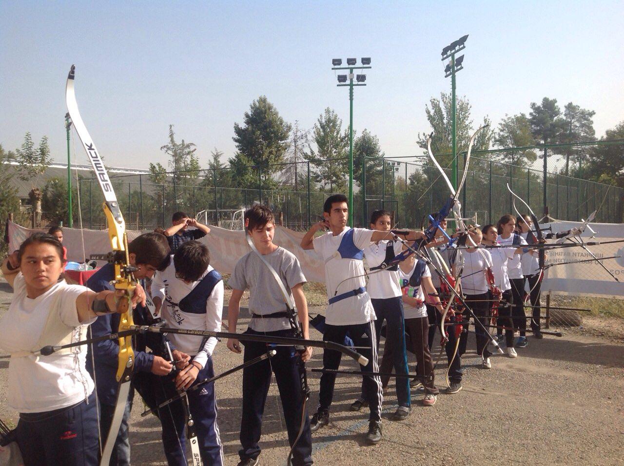 Лучники Таджикистана готовятся к важным соревнованиям
