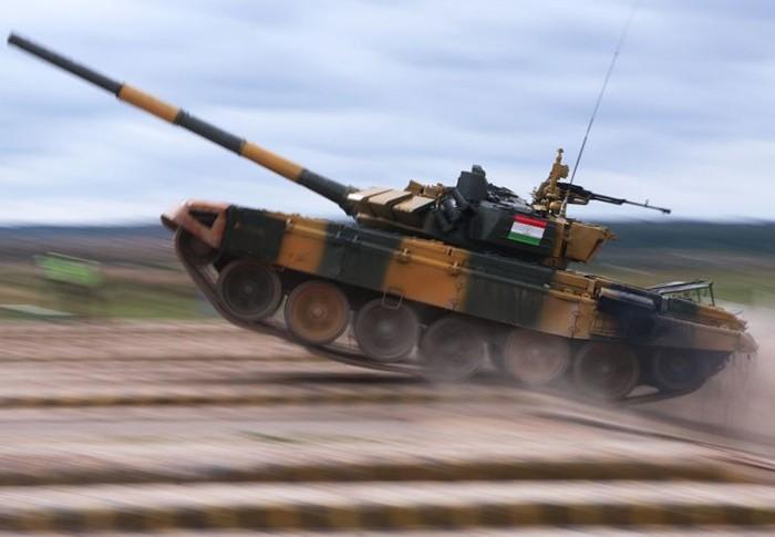 Танковый биатлон: таджикистанцы стали лидерами дивизиона