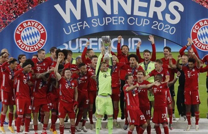 Эту «Баварию» не остановить: команда забрала и Суперкубок УЕФА