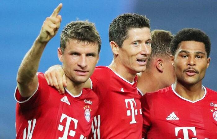 """""""Бавария"""" стала первой командой, обеспечившей участие в ЛЧ-2021/22"""
