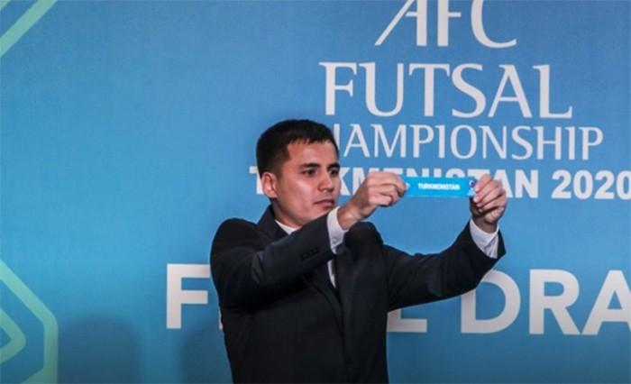 Ашхабад не будет проводить чемпионат Азии по футзалу-2020