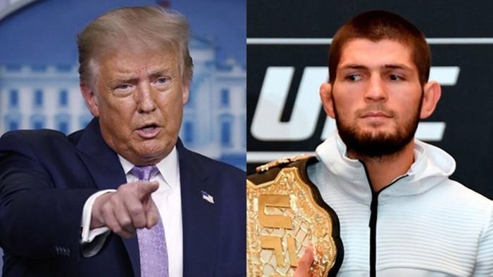 Трамп назвал Хабиба бойцом номер один в мире