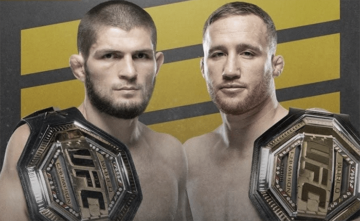 Хабиб vs Гэтжи – бой года в UFC: дата и время начала, трансляция и кард турнира UFC 254