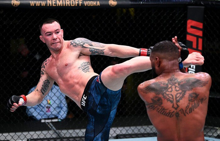 Ковингтон победил Вудли техническим нокаутом на UFC Fight Night 178