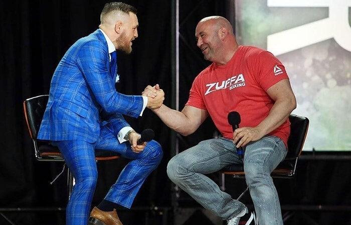 Глава UFC планирует отдохнуть на яхте Макгрегора после боя Хабиба