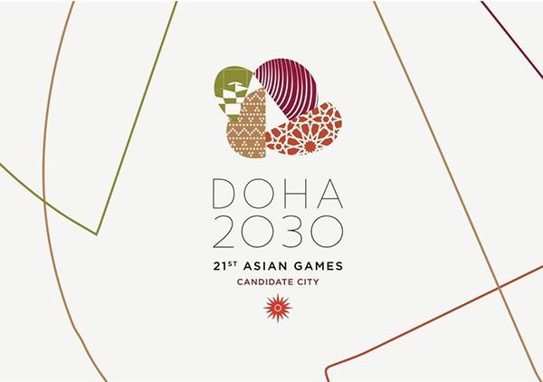 Доха представила свое лого для презентации Азиатских игр