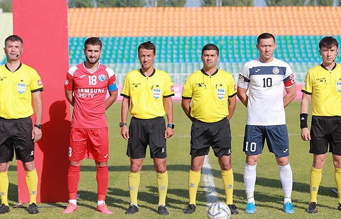 Гонорары футбольных арбитров в Таджикистане могут быть увеличены