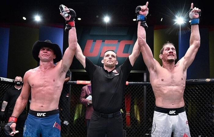Бой Серроне и Прайса на UFC Vegas 11 завершился вничью
