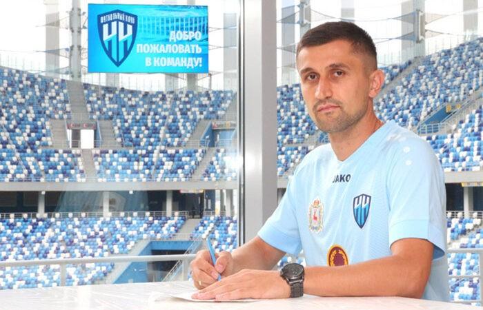 Мухаммад Султонов забил первый гол за ФК «НН»