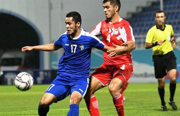 Сборная Таджикистана уступила команде Узбекистана