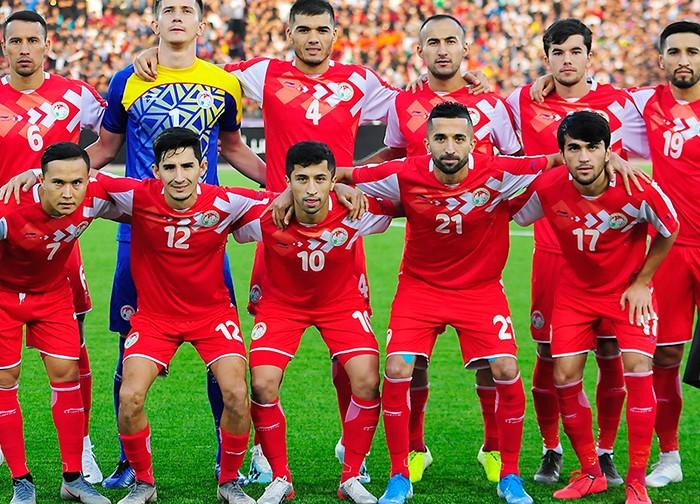 Позиция сборной Таджикистана в рейтинге ФИФА не изменилась