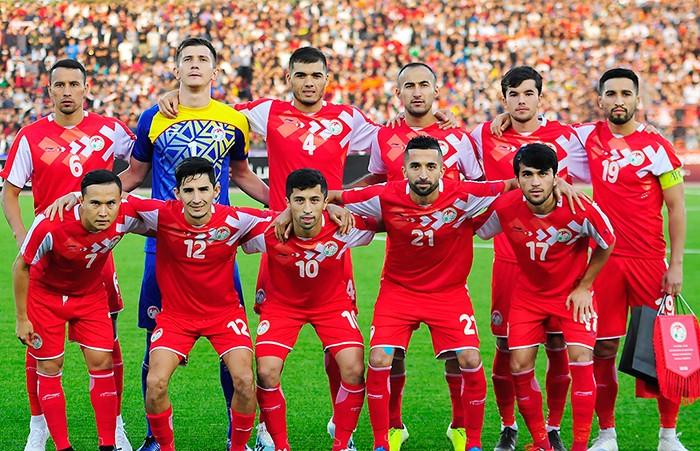 Сборная Таджикистана – в новом рейтинге ФИФА