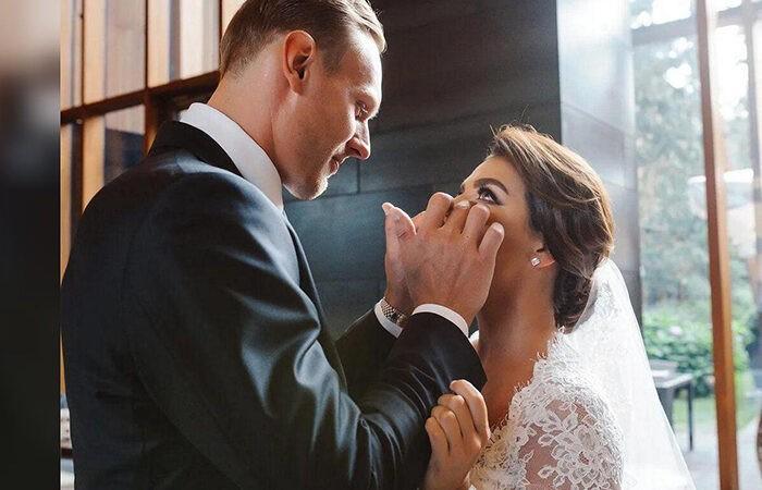 Баскетболист Тимма и Анна Седокова тайно поженились