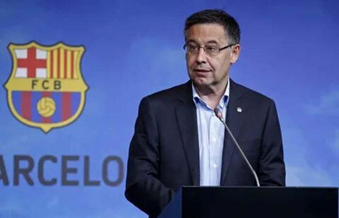Бартомеу подал в отставку с поста президента «Барселоны»