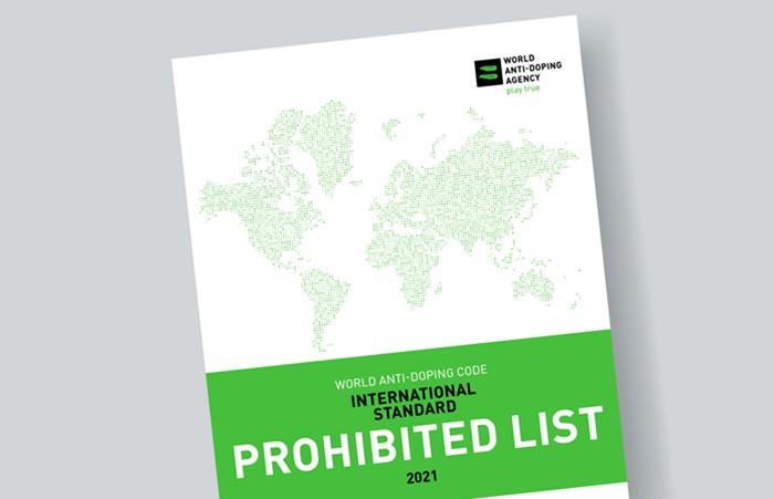 ВАДА опубликовала обновленный список запрещенных препаратов с измененным дизайном