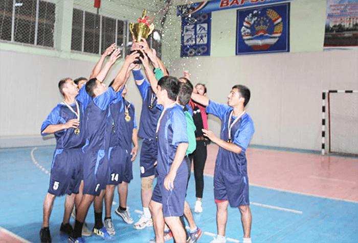 Команда «Душанбе» победила в Лиге гандбола-2020