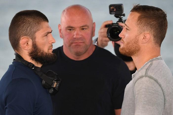 Президент UFC оценил бой Хабиб – Гэтжи в 700 млн долларов