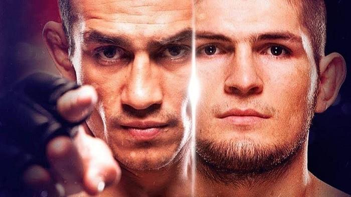 Фергюсон оскорбил Хабиба на пресс-конференции перед UFC 262
