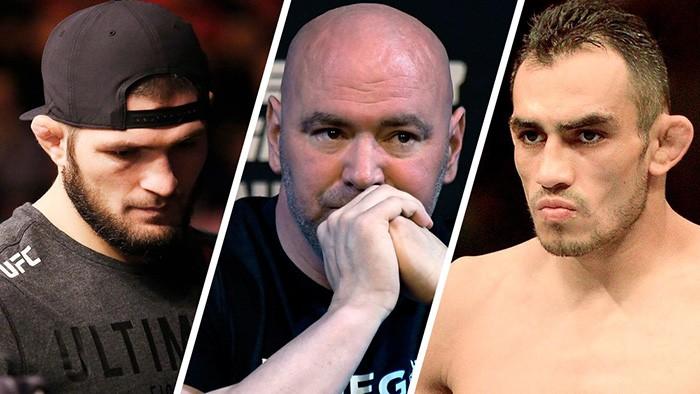 Глава UFC сообщил о намерении организовать бой Хабиба с Фергюсоном