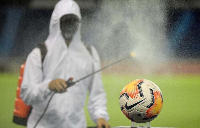 Как распространяется ковид среди футболистов?
