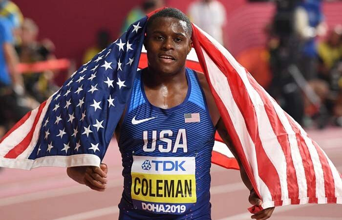 Американского легкоатлета Коулмана дисквалифицировали на два года
