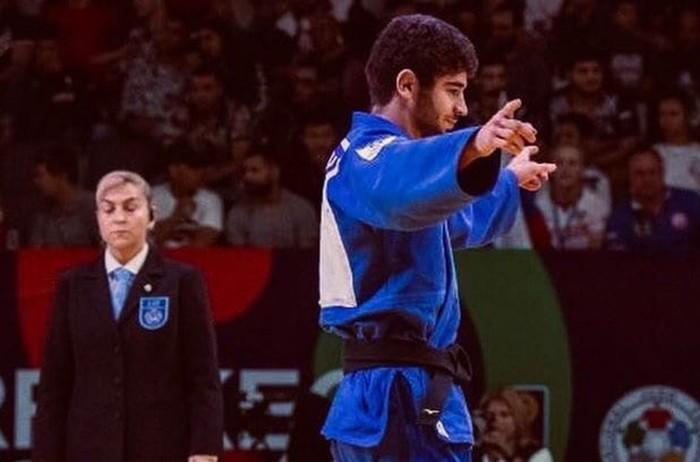 Махмадбек Махмадбеков выиграл серебро первенства Европы по дзюдо