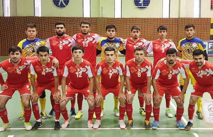 Таджикистан узнал свою позицию в рейтинге футзала