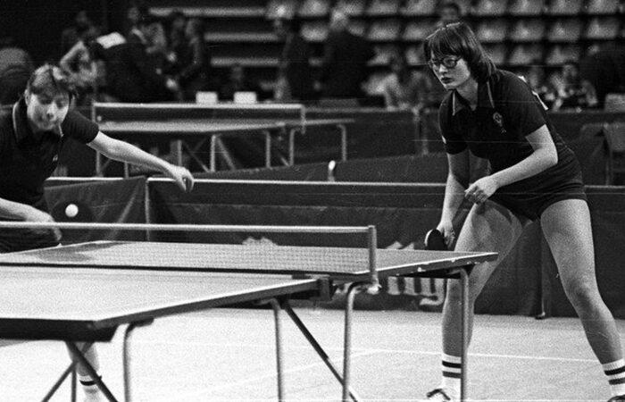 Страничка истории: в  пинг-понг играли везде