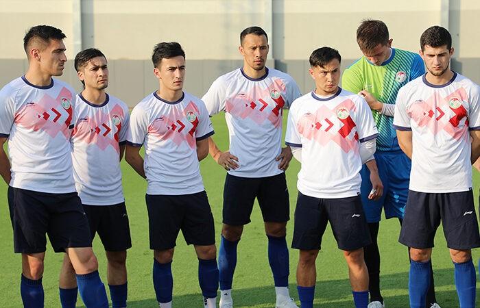 Сборная Таджикистана начала подготовку к матчу с ОАЭ